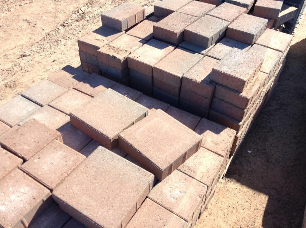 Square Patio Stones