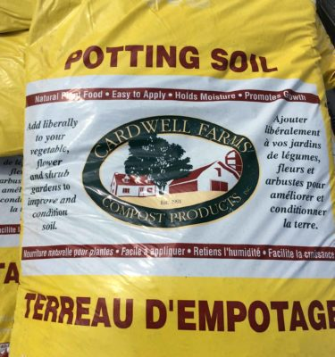 Bagged Soil