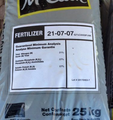 21-7-7 Lawn Fertilizer