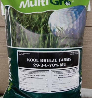 Grass Seed, Lime & Fertilizer