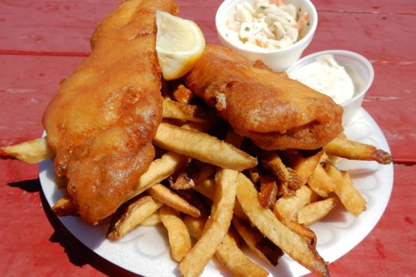 2 piece fish n chips
