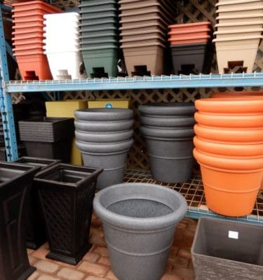 Containers: Pots, Baskets, Barrels, & More