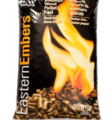 kool breeze farms premium soft wood pellet fuel Eastern Embers