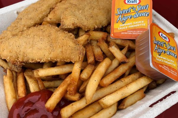 chicken finger dinner