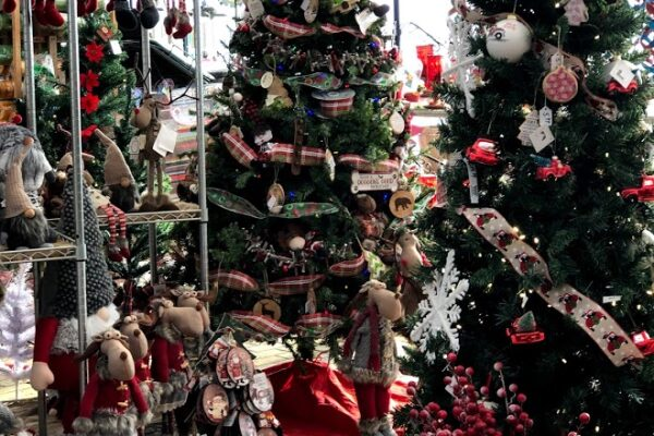decorated trees 2